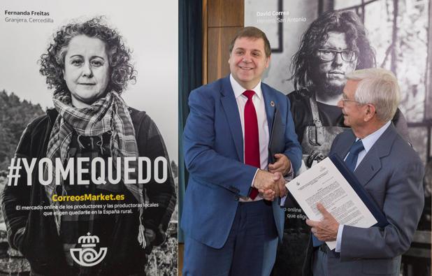 Convenio de colaboración entre Correos y la RAG