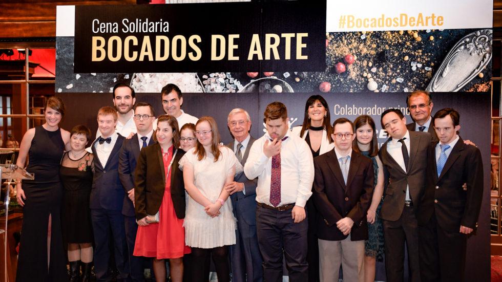 Bocados de Arte culmina con un cena y subasta solidaria en Madrid