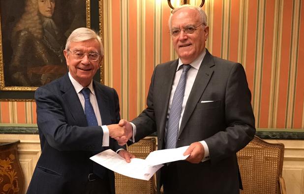 Los hoteleros madrileños desarrollarán acciones conjuntas con la Asociación de Amigos de la Real Academia de Gastronomía para fortalecer la 'Marca Madrid'