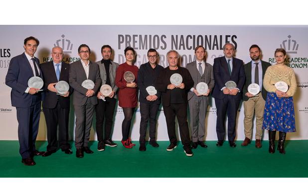 Se entregan los Premios Nacionales de Gastronomía 2018