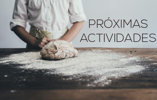 Próximas actividades