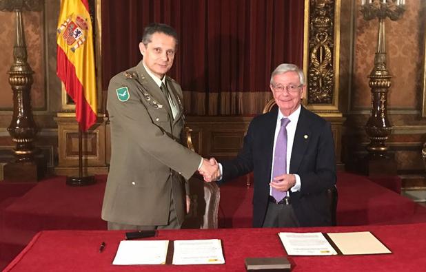 Convenio entre el Ministerio de Defensa, la Real Academia de Gastronomía y su Asociación de Amigos