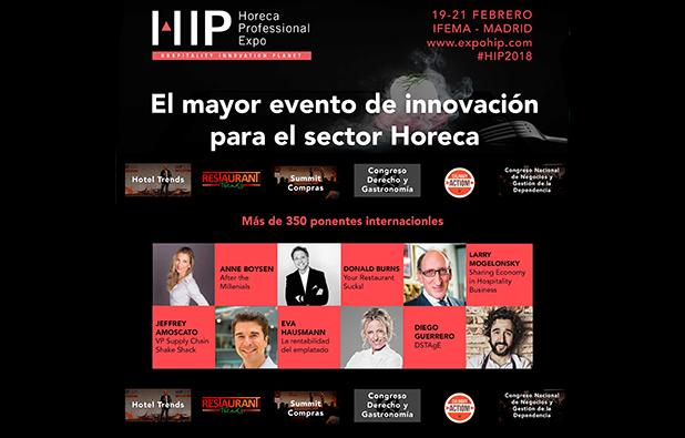 En el marco de HIP, se celebrará el I Congreso Europeo de Derecho y Gastronomía