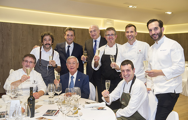 Homenaje a Rafael Ansón de la Alta Cocina española