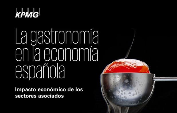 Informe KPMG: La gastronomía en la economía española