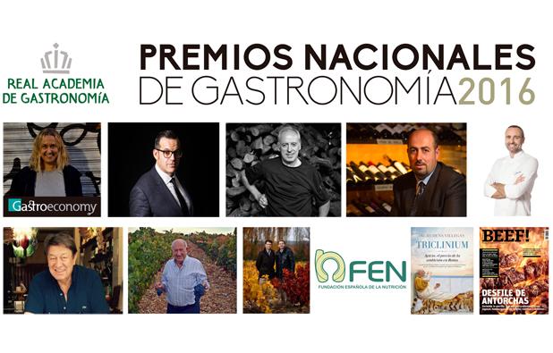 Entrega de los Premios Nacionales de Gastronomía 2016...