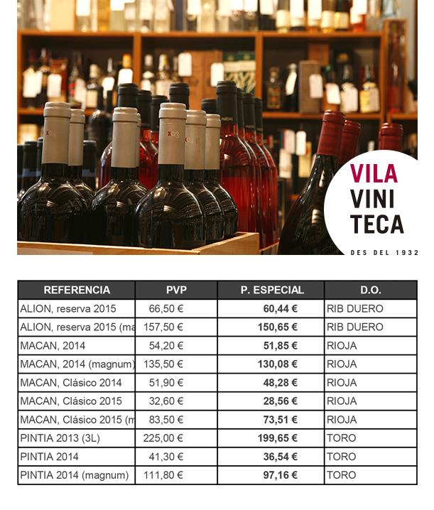 Vila Viniteca primavera 2019